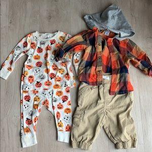 Baby boy fall bundle set